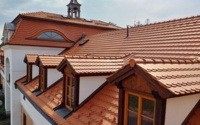 PAVATEX na střeše Hájčí dvorec