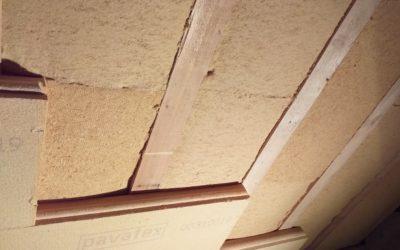 Pavaflex + Isolair v podkroví