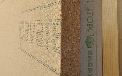 dřevovlákno PAVATEX ve spojení s dřevostavbou z EKOPANELŮ