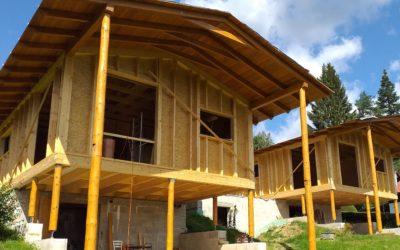 Chata nad přehradou Lipno – dřevostavba s Pavatexem