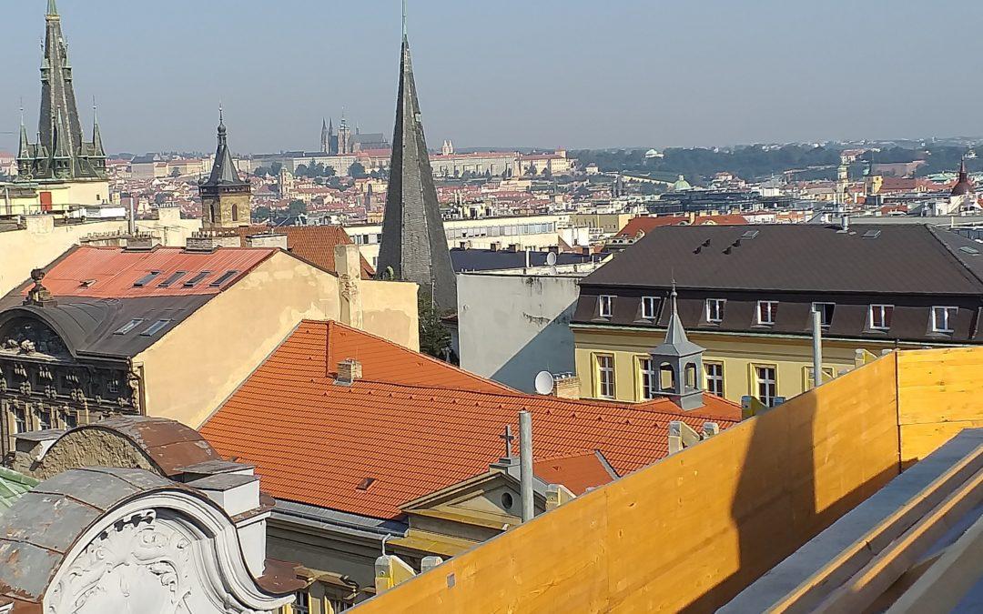 PAVATEX a půdní vestavba v centru Prahy